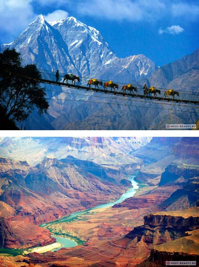 Самые красивые каньоны: Каньон Кали Гандаки