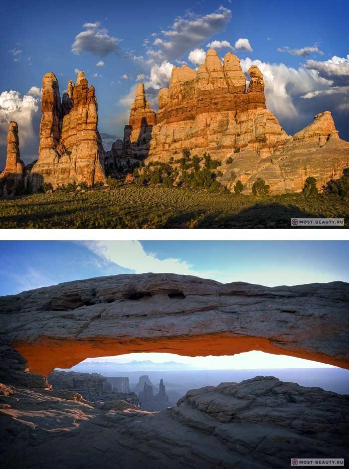 Самые красивые каньоны: Каньонлендс