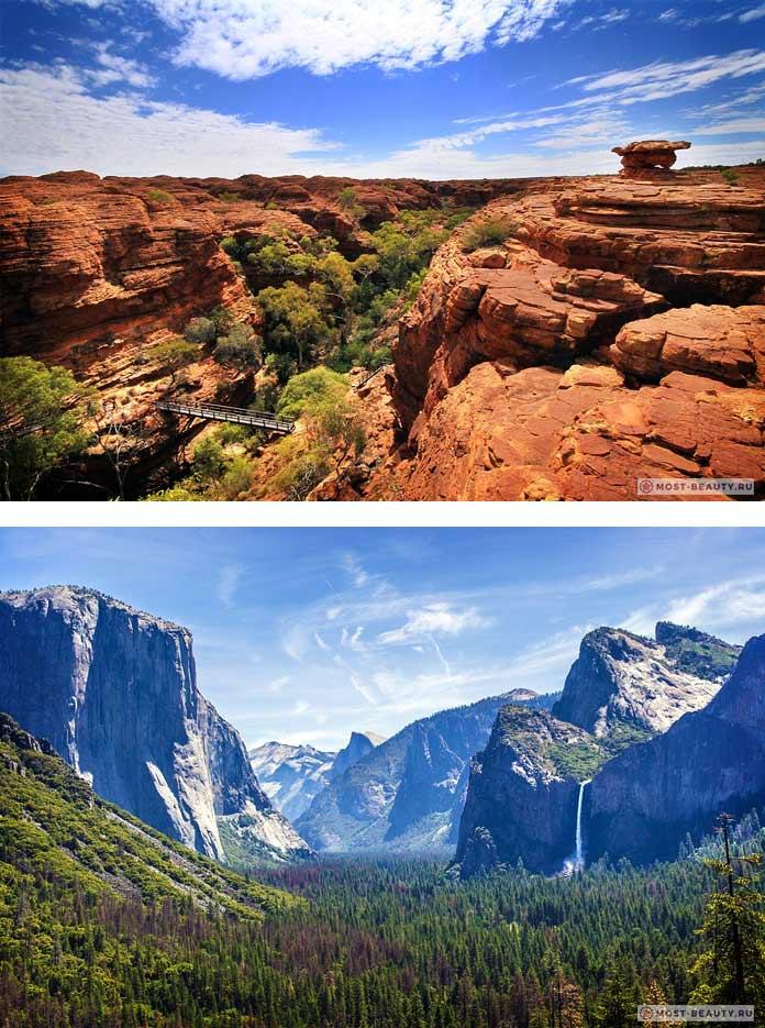 Самые красивые каньоны: Кингз Каньон