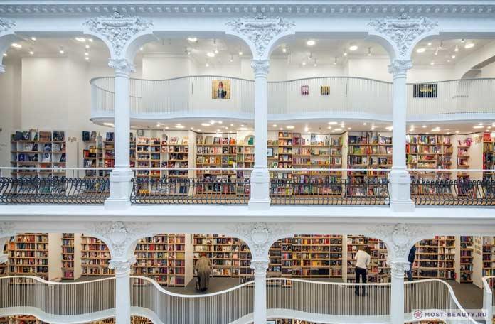 Список достопримечательностей Бухареста: Магазин Carturesti Carusel