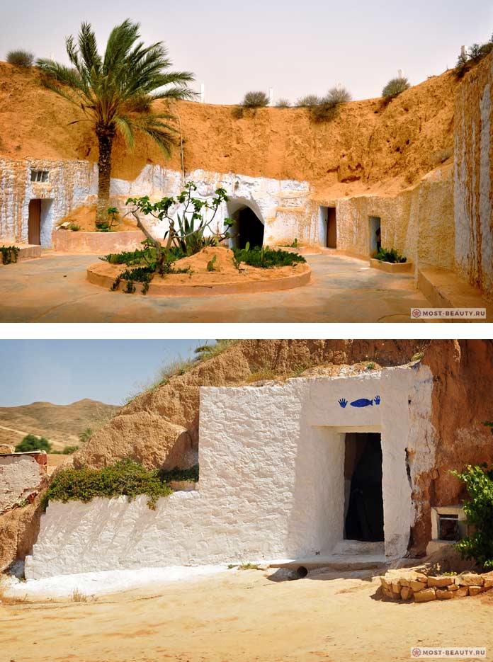 Матмата - один из красивых пещерных городов