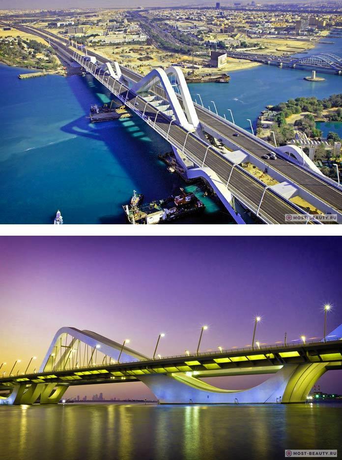 10 зданий Захи Хадид: Мост-арка Шейх Зайед-Бридж