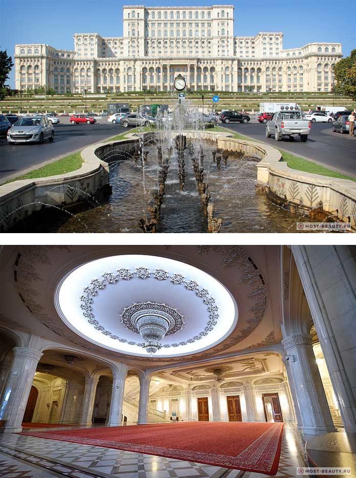 Список достопримечательностей Бухареста: Народный дом