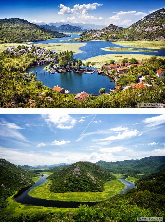 Озеро Скэдэр - одно из самых красивых мест Черногории