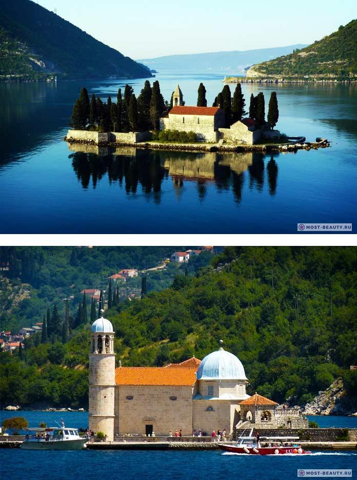 Пераст - одно из самых красивых мест Черногории
