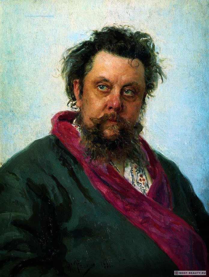 Известные картины Ильи Репина: Портрет Мусоргского