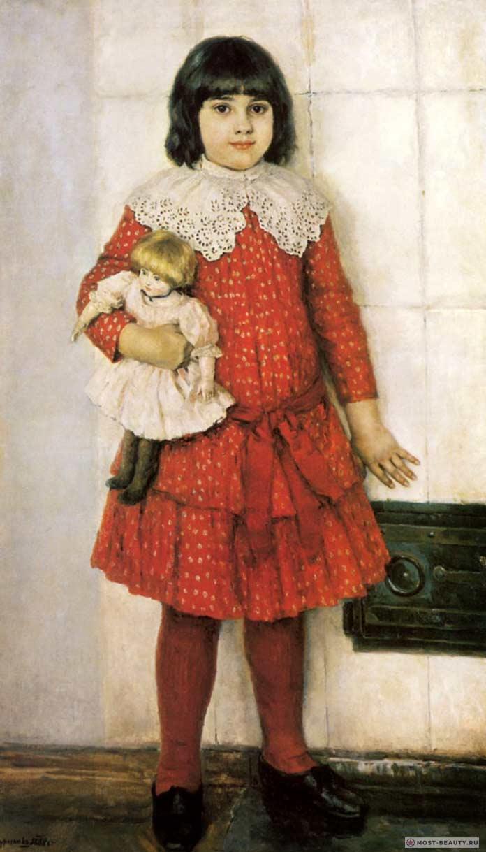 Самые известные картины Сурикова: Портрет дочери