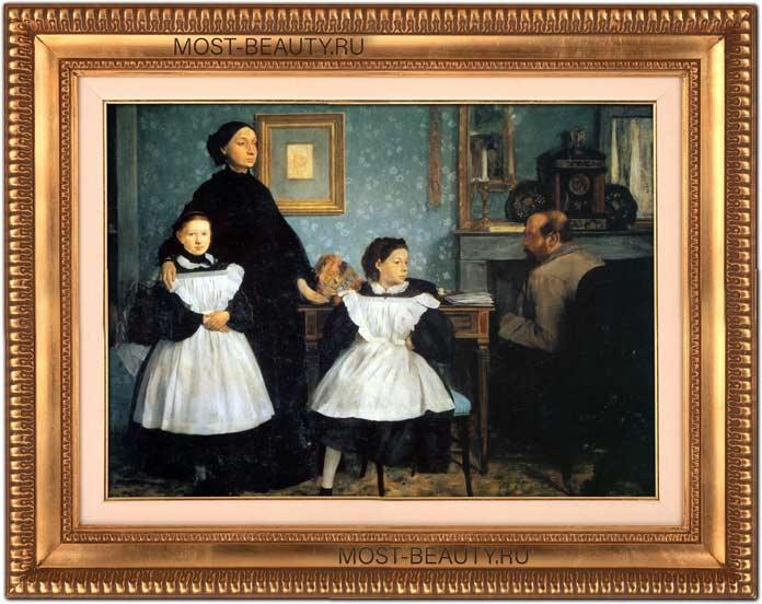 знаменитые картины Эдгара Дега: Портрет семьи Беллелли