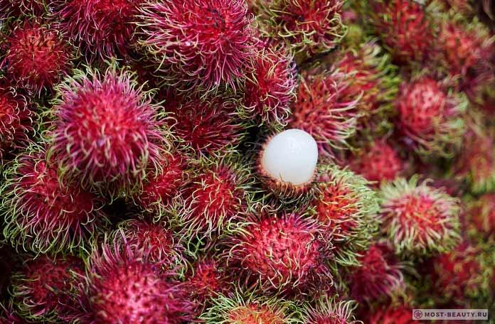 Рамбутан - один из самых необычных фруктов