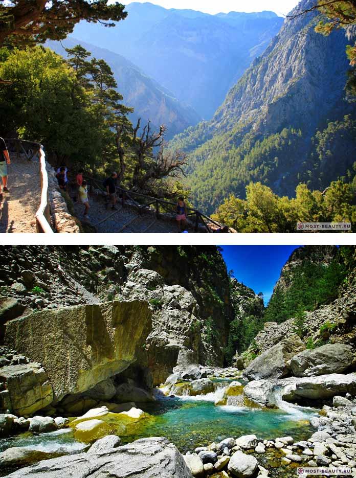 Самые красивые каньоны: Самария
