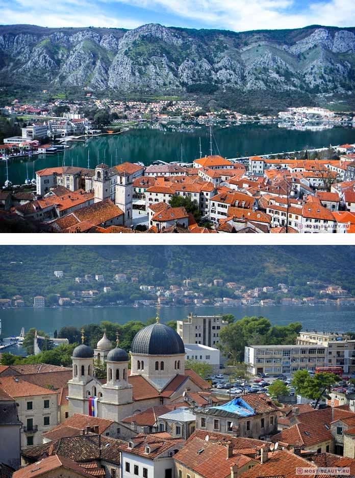 Старый город Котор - одно из самых красивых мест Черногории
