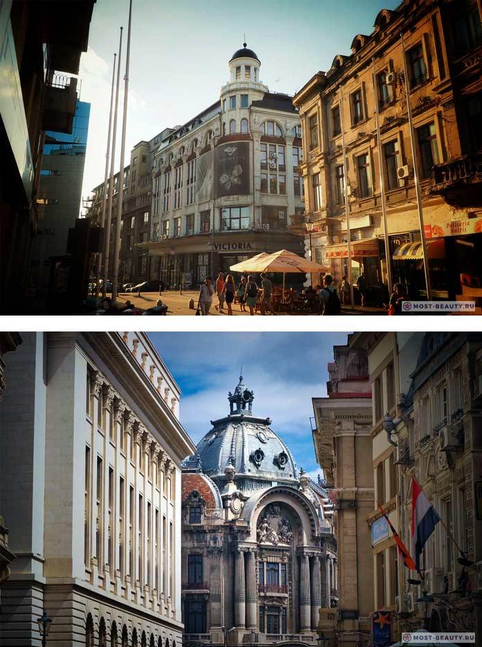 Список достопримечательностей Бухареста: Старый город