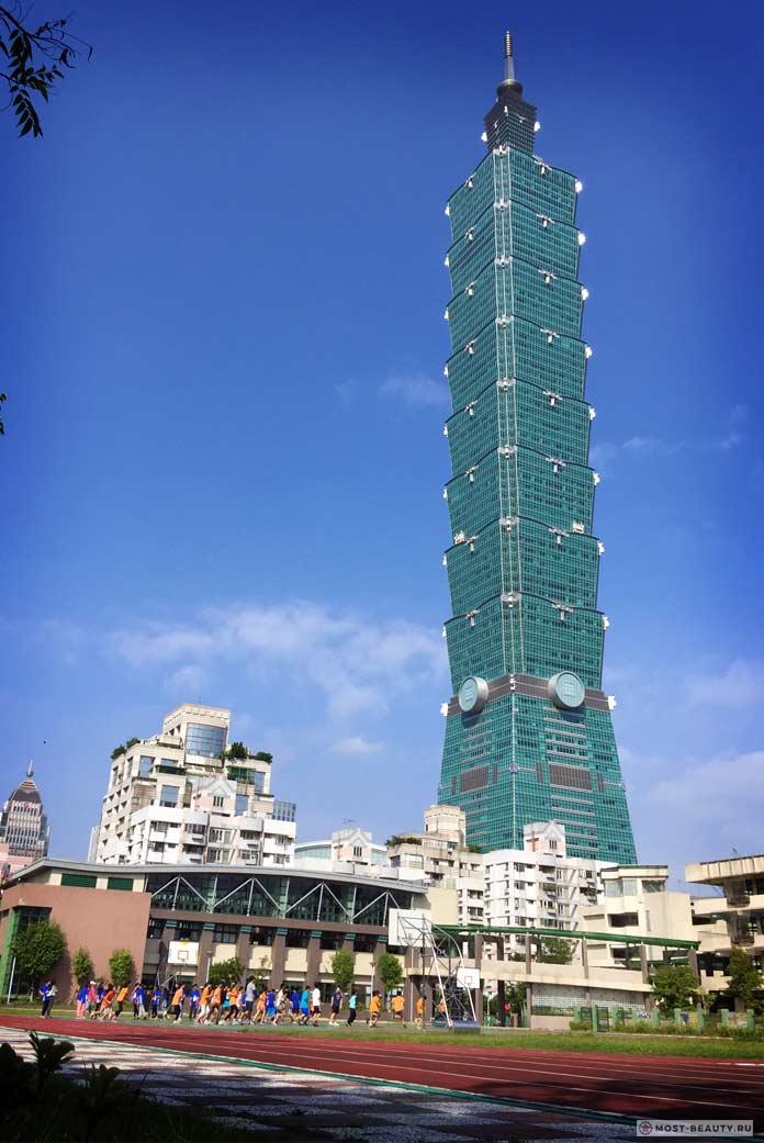 Тайбэй 101 - одно из самых высоких зданий