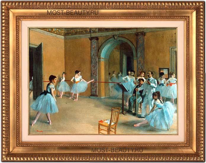 знаменитые картины Эдгара Дега: Танцевальный класс в Опере