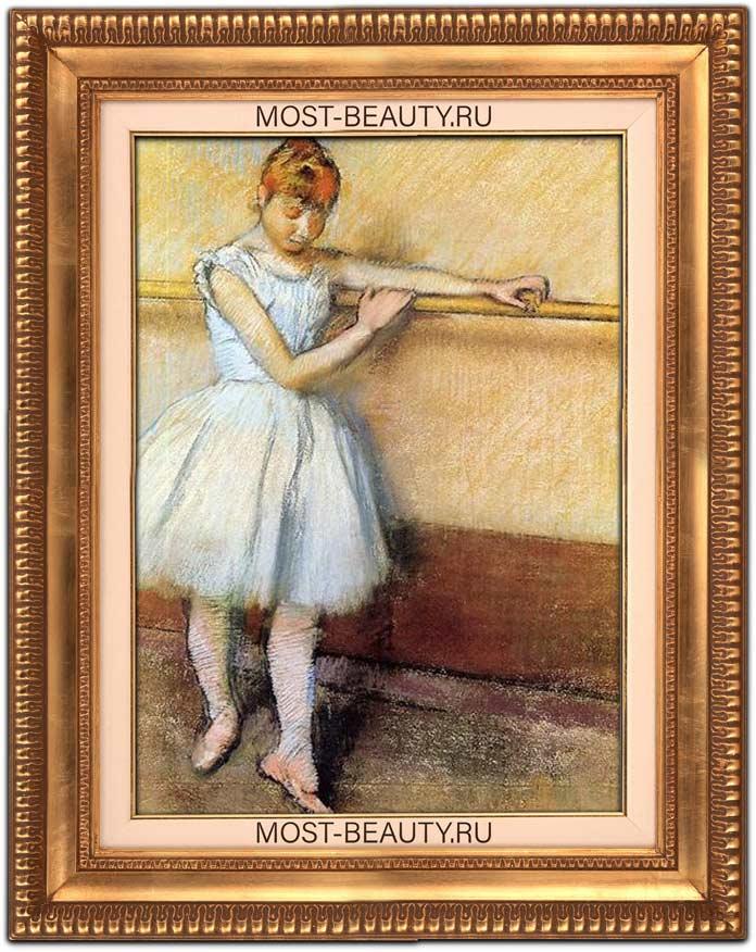 знаменитые картины Эдгара Дега: Танцовщицы у станка