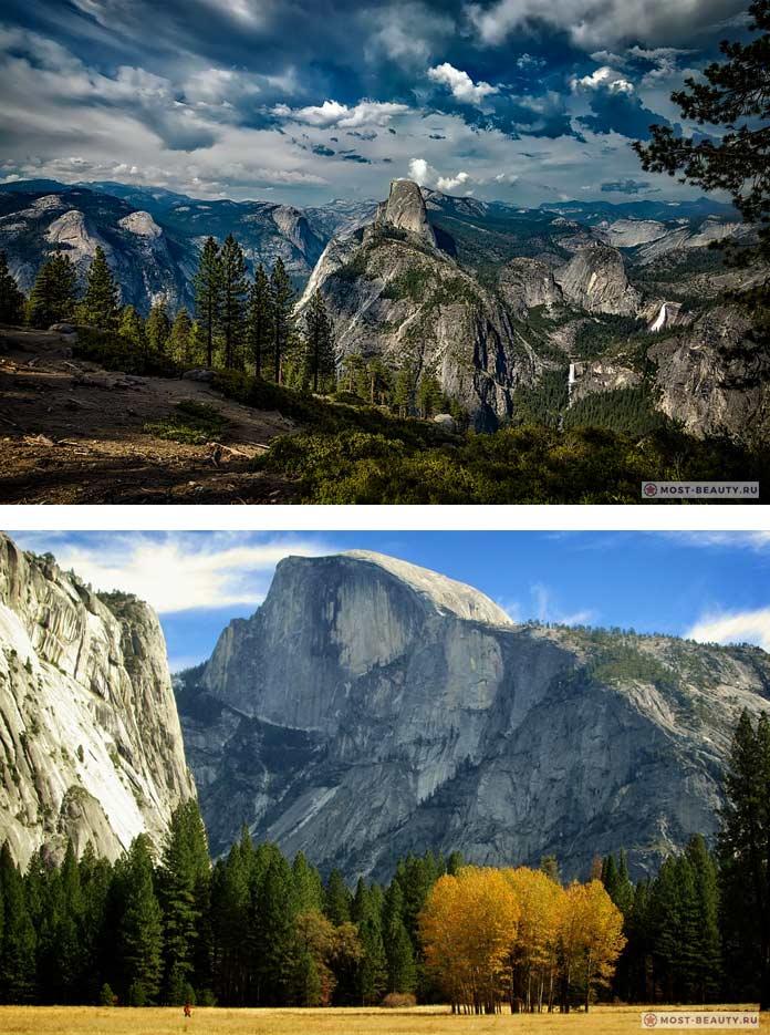 Самые красивые каньоныThe Yosemite Valley
