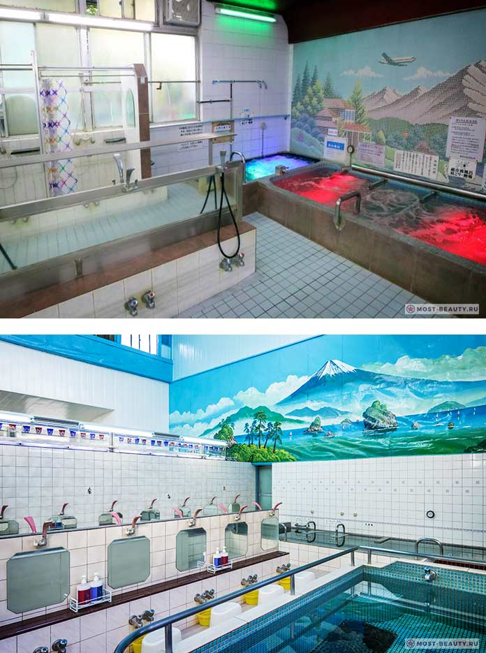 Токийские бани