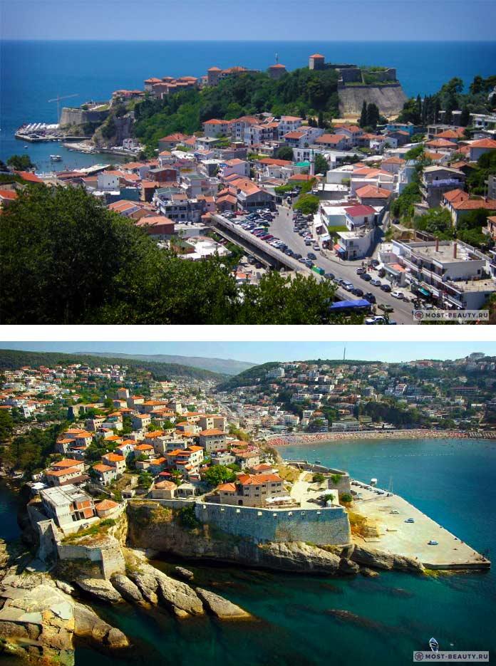 Улцинь - одно из самых красивых мест Черногории