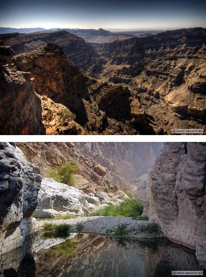 Самые красивые каньоны: Wadi Nakhr. Оман