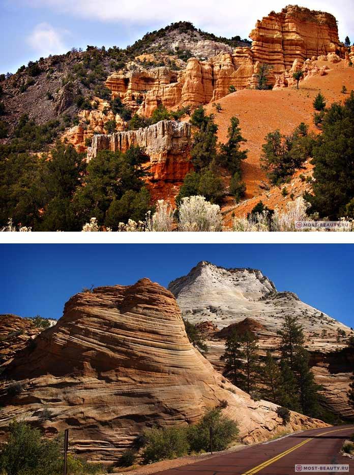 Самые красивые каньоны: Зайон