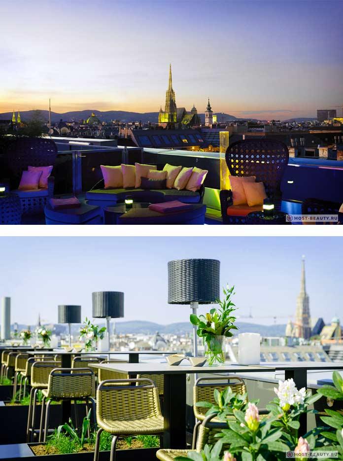 Список баров на крыше с лучшим видом: Atmosphere Rooftop Bar