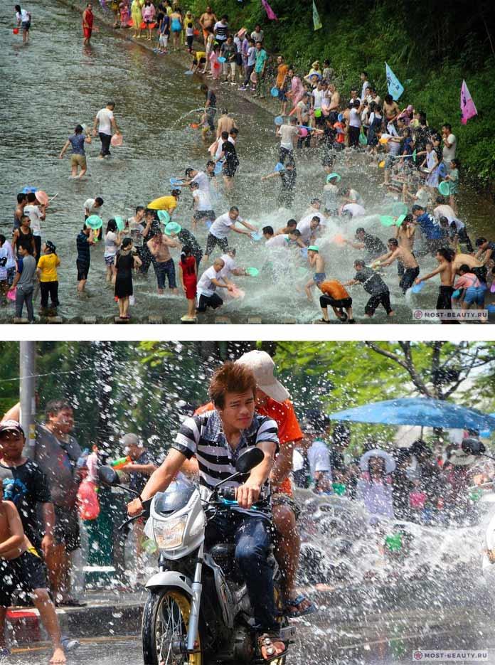 Сонгкран - один из безумных фестивалей