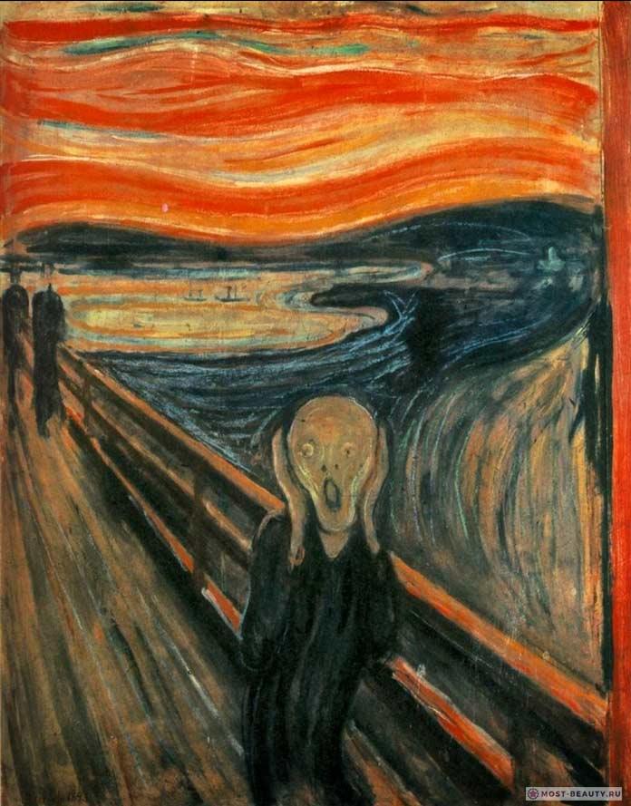 Картины Эдварда Мунка: Крик