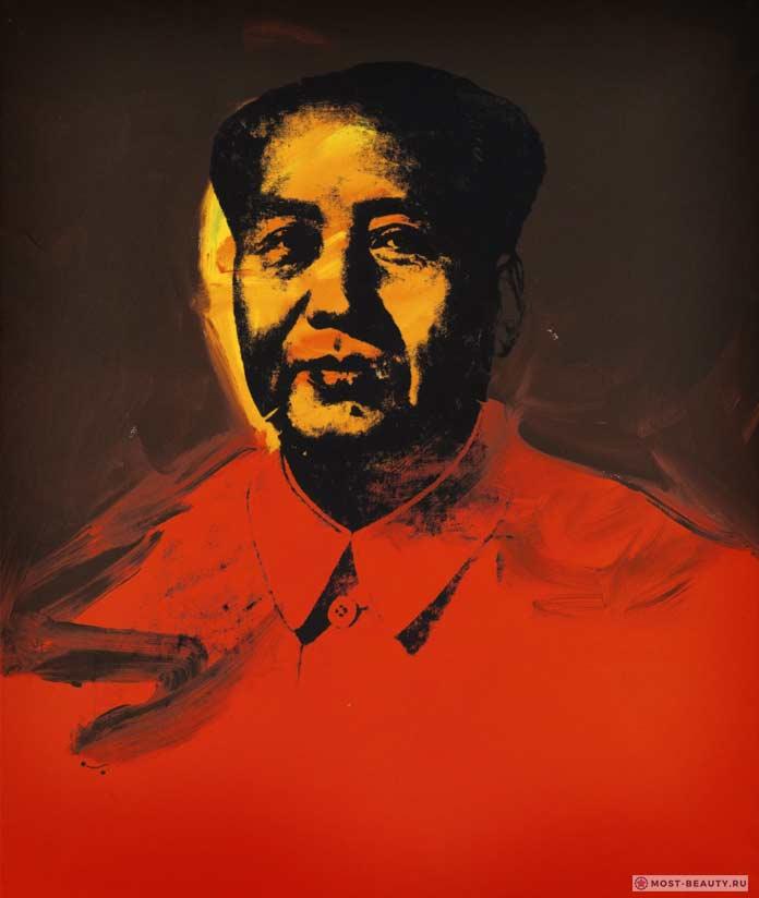 известные картины Энди Уорхола: Мао