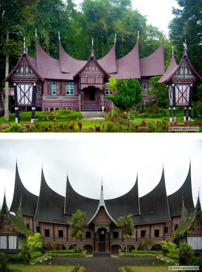 Рума Гаданг - один из красивейших традиционных домов.