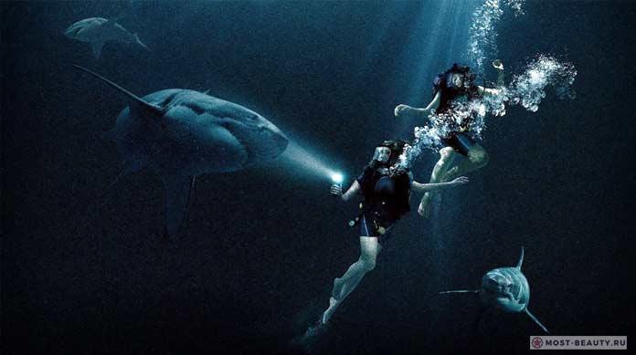 Лучшие фильмы про акул: Синяя бездна