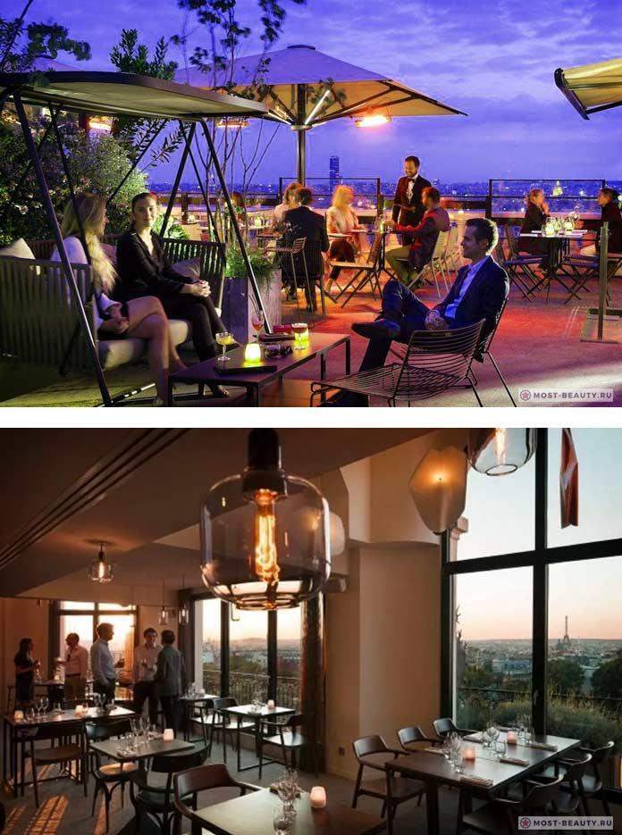 Список баров на крыше с лучшим видом: Terrass Hotel