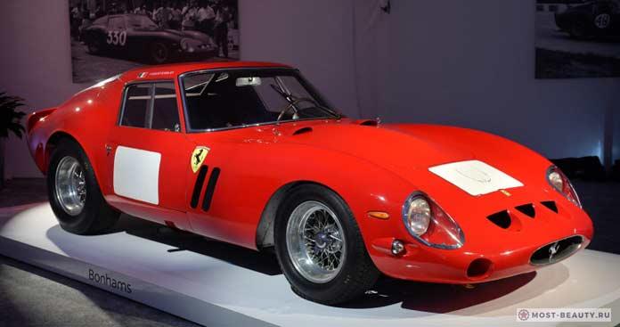 10 лучших моделей Ferrari 250 GTO 1962