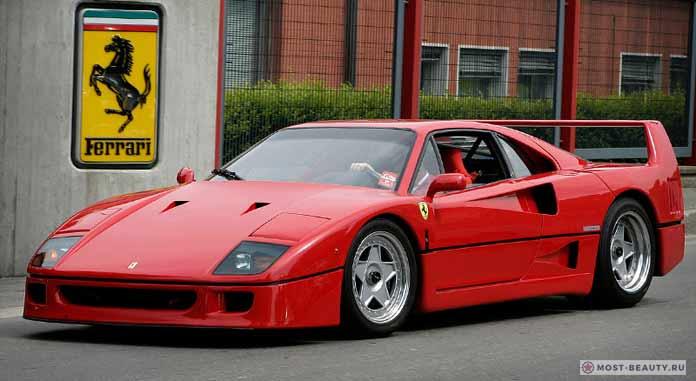 10 лучших моделей Ferrari F40 1987