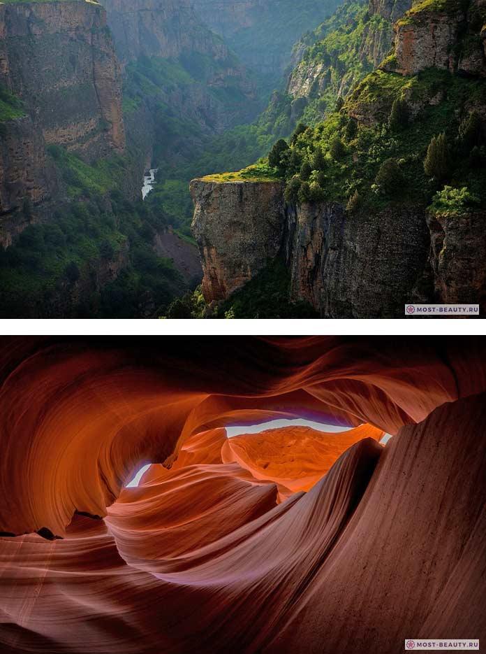 Красивые каньоны. CC0
