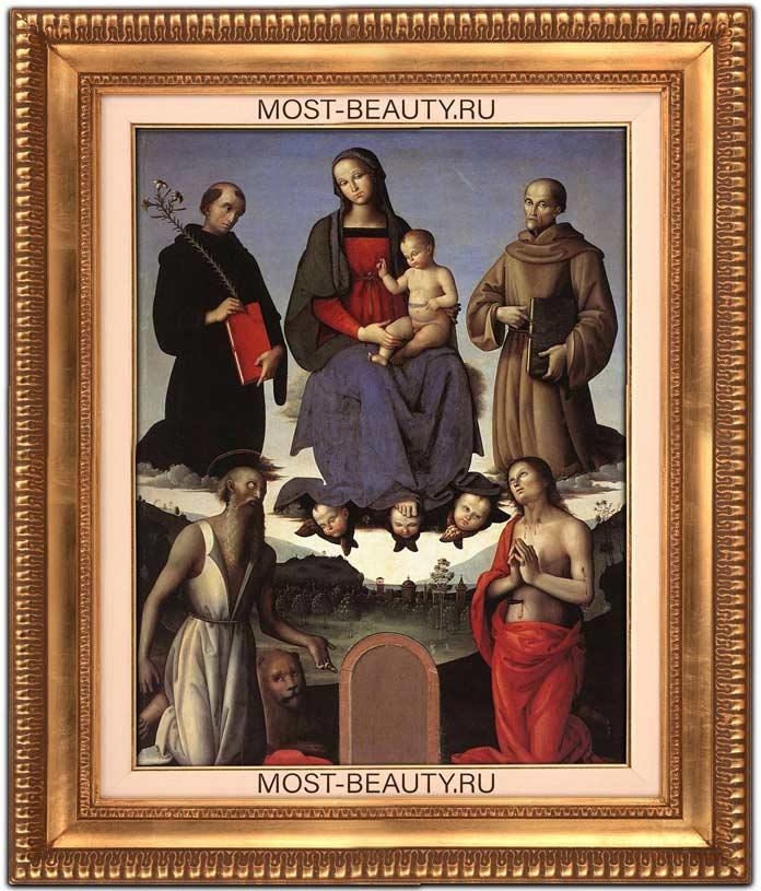 Мадонна с младенцем (1500)