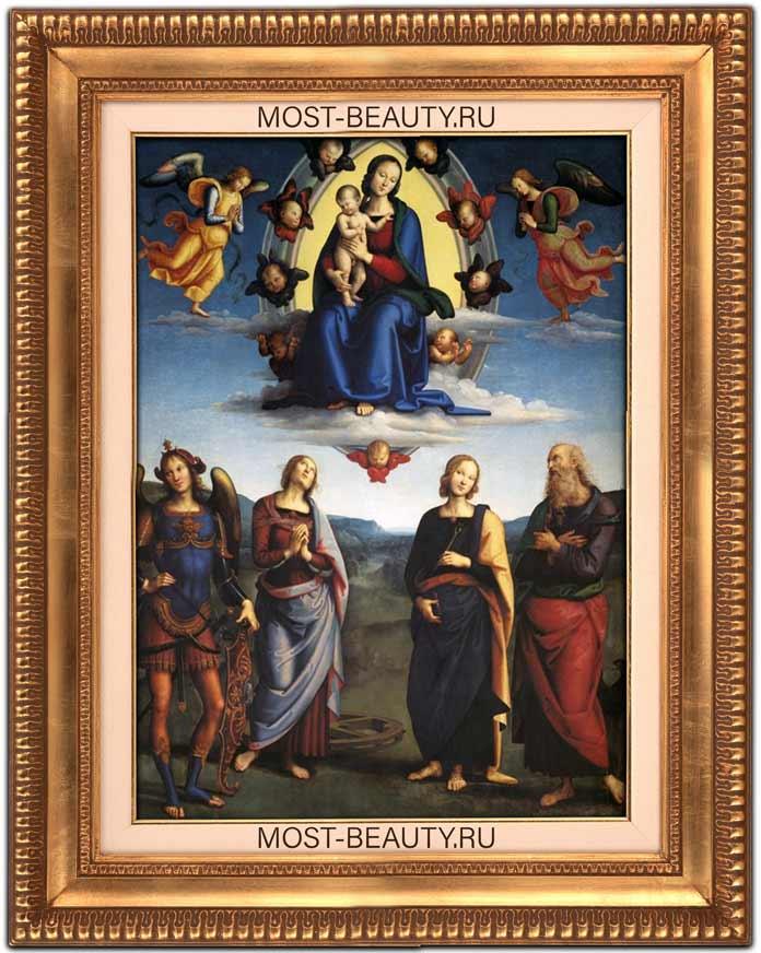 Мадонна во славе с младенцем и святыми (1500)