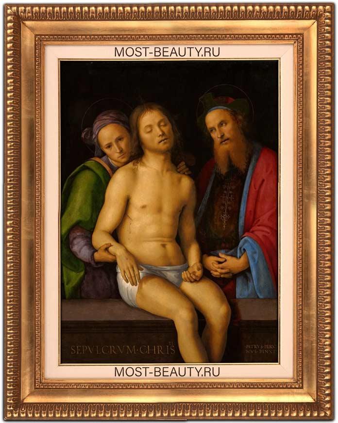 Мертвый Христос с Иосифом Аримафейским и Никодимом