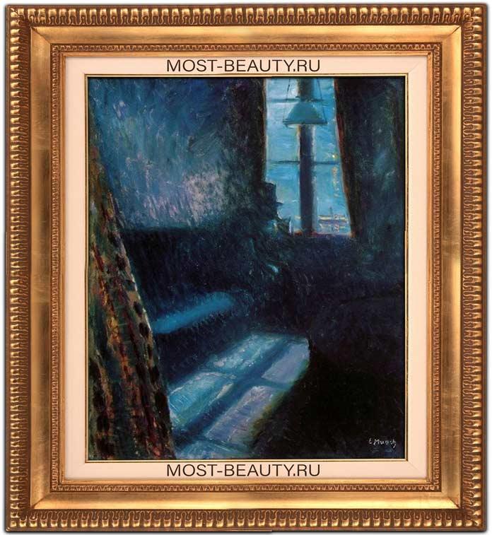 Картины Эдварда Мунка: Ночь в Сен-Клу (1890)