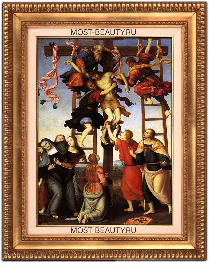 Картины Перуджино: Полиптих Аннунциата