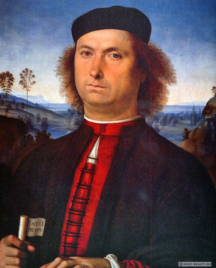 Картины Перуджино: Портрет Франческо делле Опере (1494)