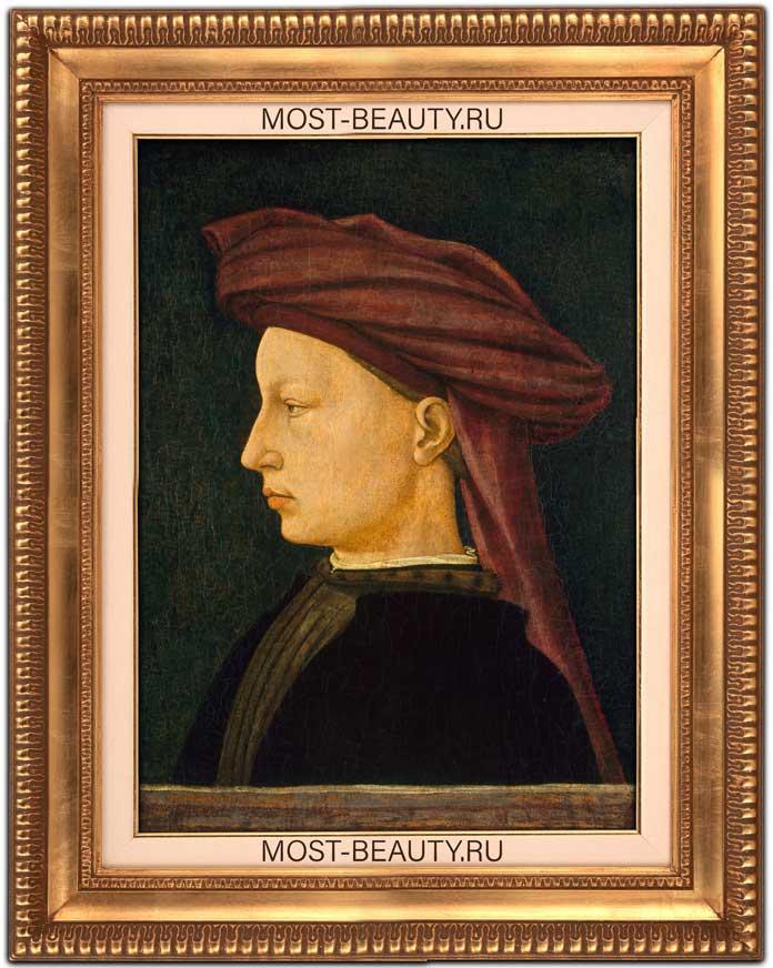 Удивительные картины Мазаччо: Портрет молодого человека (1425)