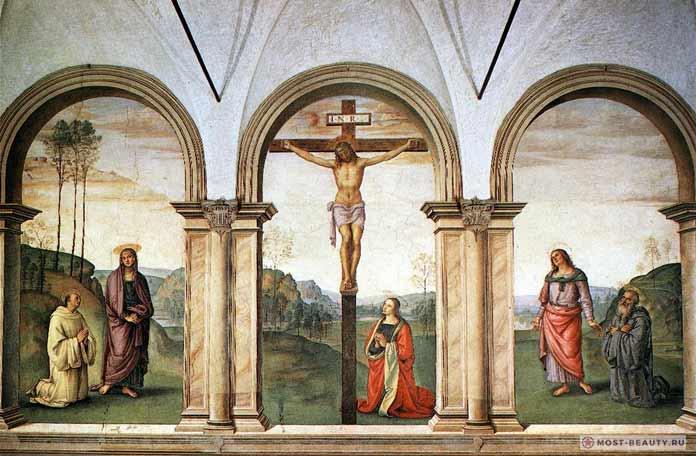 Картины Перуджино: Распятие (1495–1496)