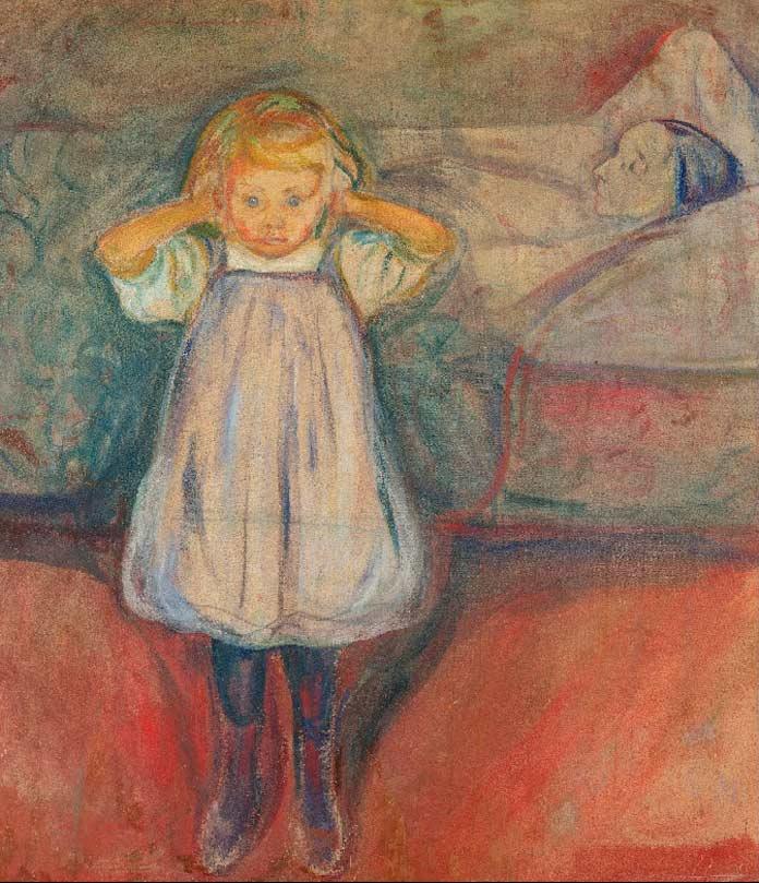 Картины Эдварда Мунка: Ребёнок и смерть
