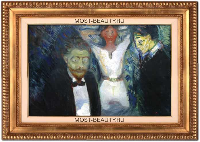 Картины Эдварда Мунка: Ревность
