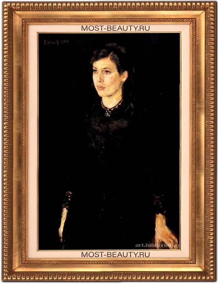 Картины Эдварда Мунка: Сестра Ингер