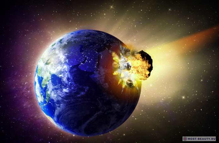 Удивительные теории заговора, связанные с космосом: 2012 астероид