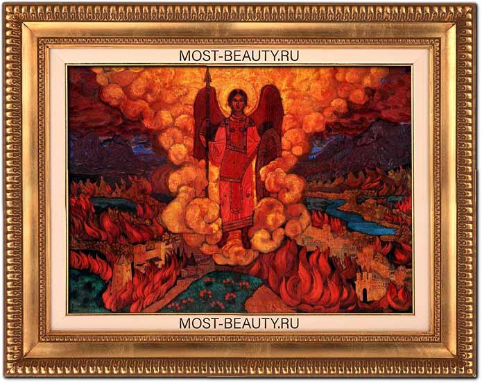 Самые известные картины Рериха: Ангел последний