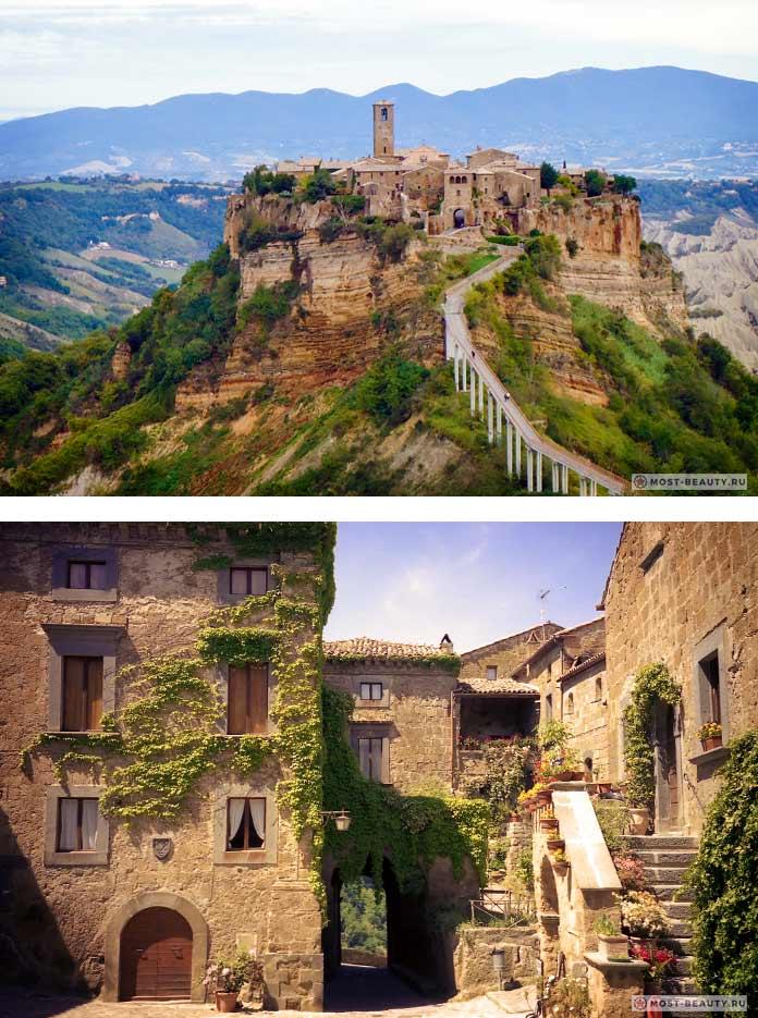 Чудесные итальянские деревни: Чивита ди Баньореджо. СС0