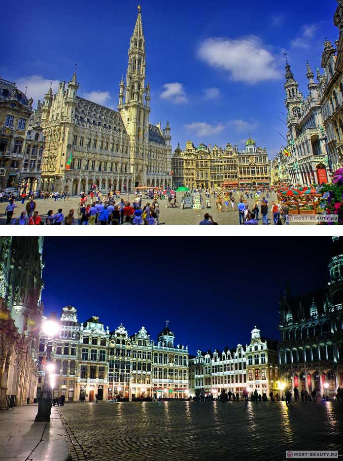 15 самых красивых площадей Европы: Гранд-Плас