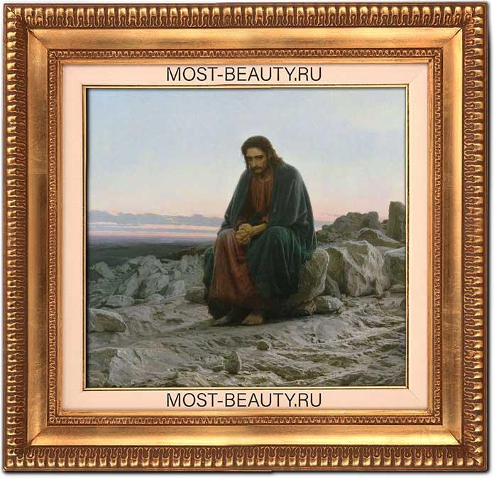 Чувственные картины Крамского: Христос в пустыне (1872)